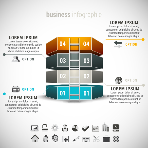 Ziemer modern Infografik