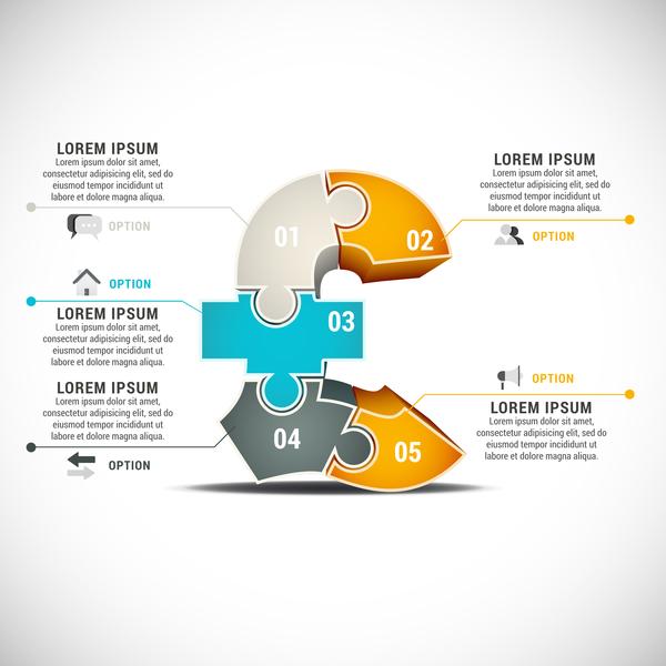 Verge moderne infographie