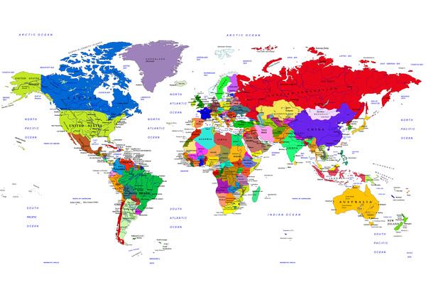 政治 地図 世界