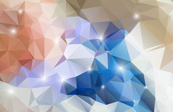 Vecteur Couleur De Forme Géométrique Polygone Welovesolo
