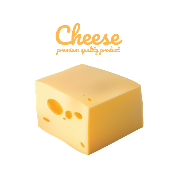 realistic quality premium cheese