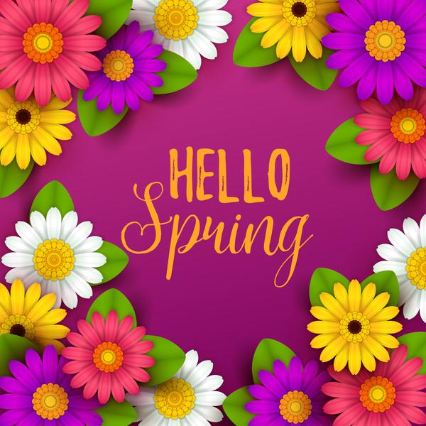 violette printemps fleur Belle
