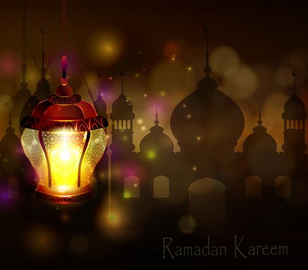 、アラビア語、カリーム、ランプ、ラマダン