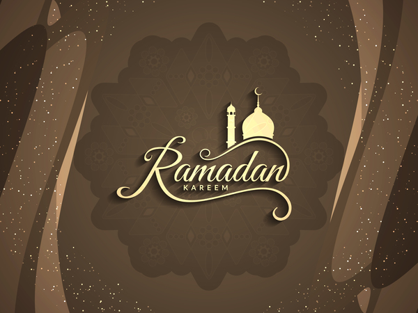 voeux ramadan kareem carte