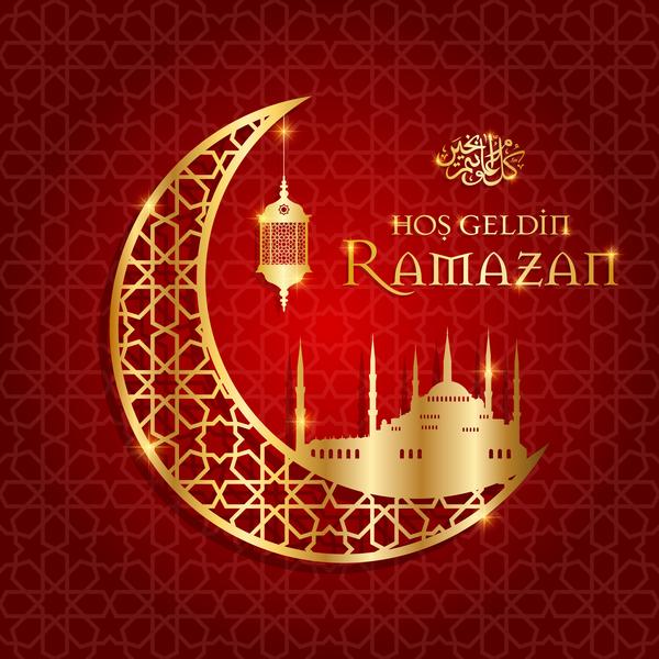 ramazan månen Gyllene