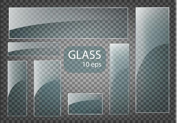 verre rectangle banner