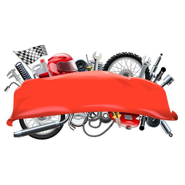 rod reservdelar motorcykel banner