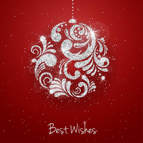 rosso Natale bagattelle argento