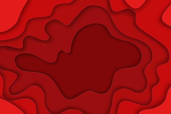 stratifiés rouge encadrer