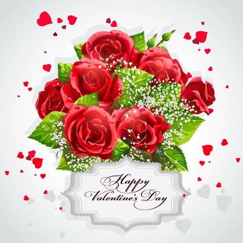 San Valentino rosso Rosa label