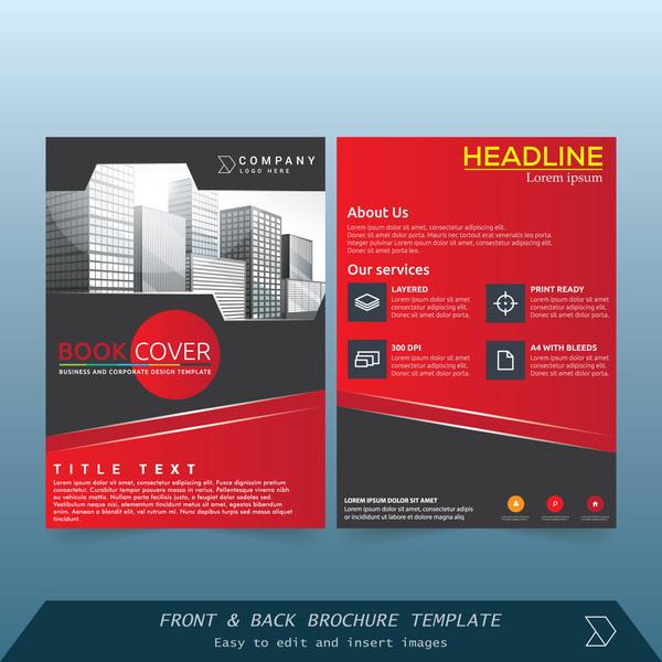 stile rot cover Broschüre