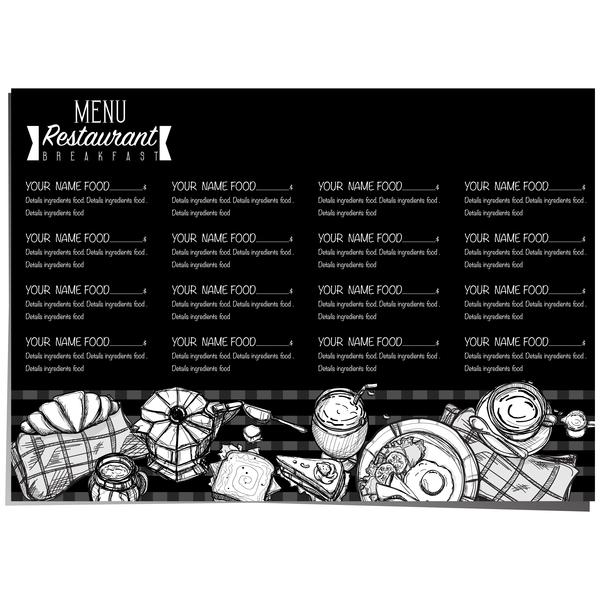 Restawrant prix petit déjeuner menu Liste