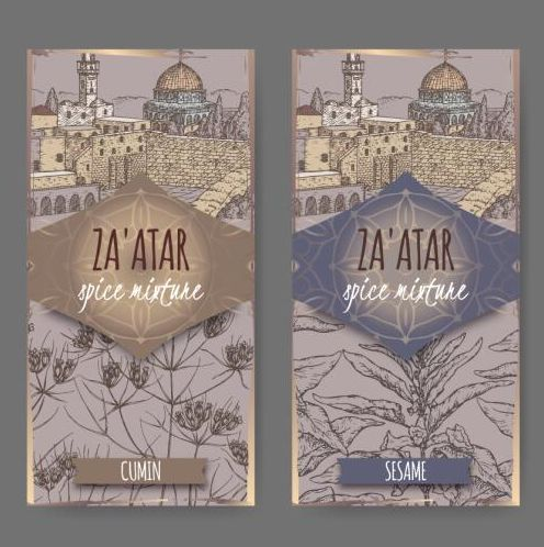 vertikale Skizze Retro-Schrift banner