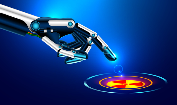 、手、現代、ロボット