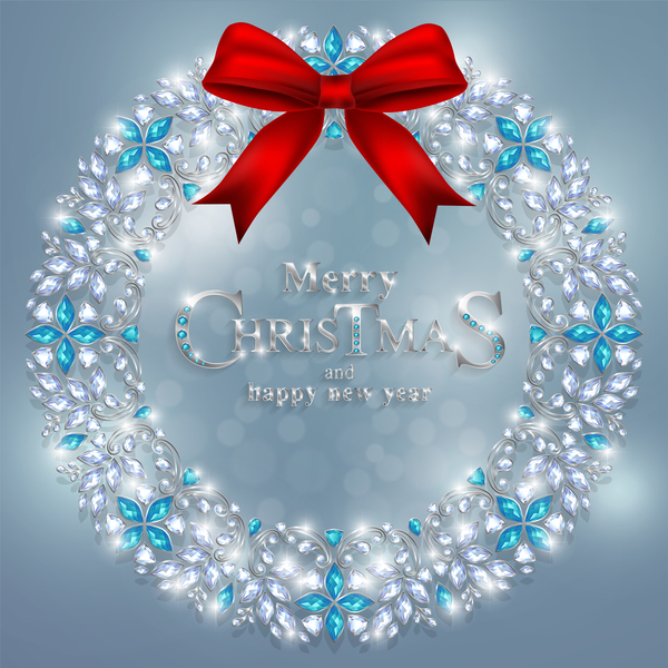 smycken runda nya jul Dekoration ar