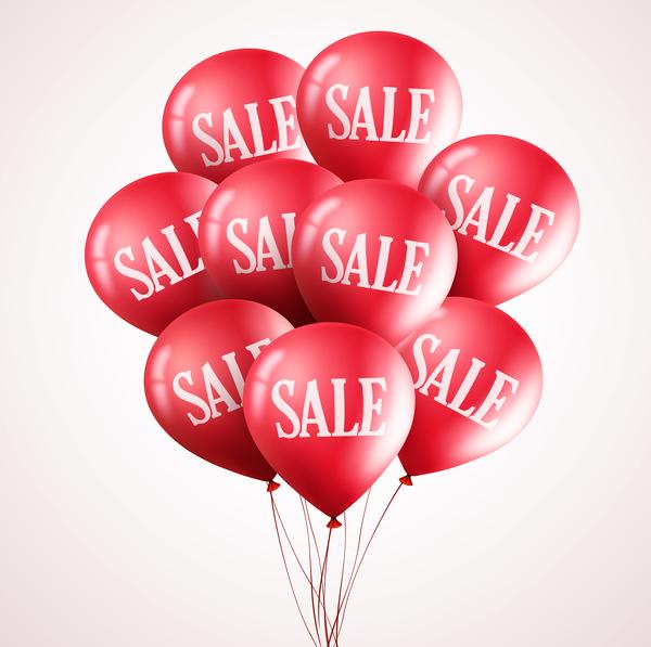 vendita sconto rosso palloncino