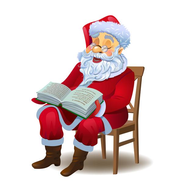 santa Claus boka