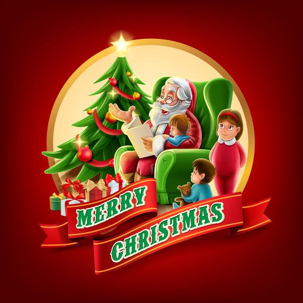 赤 ラベル サンタ クリスマス