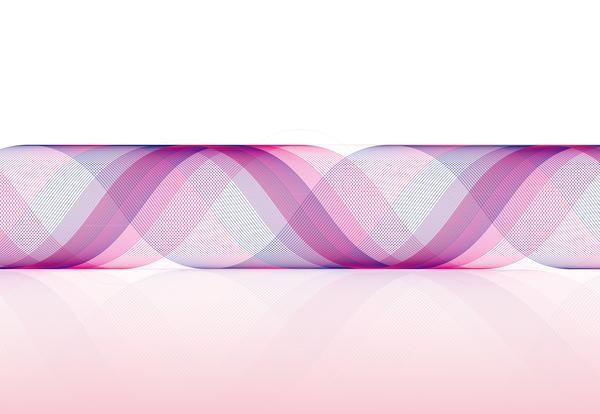 scroll ondulato abstract