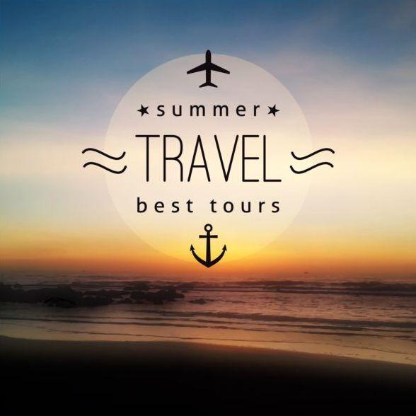 voyage mer été