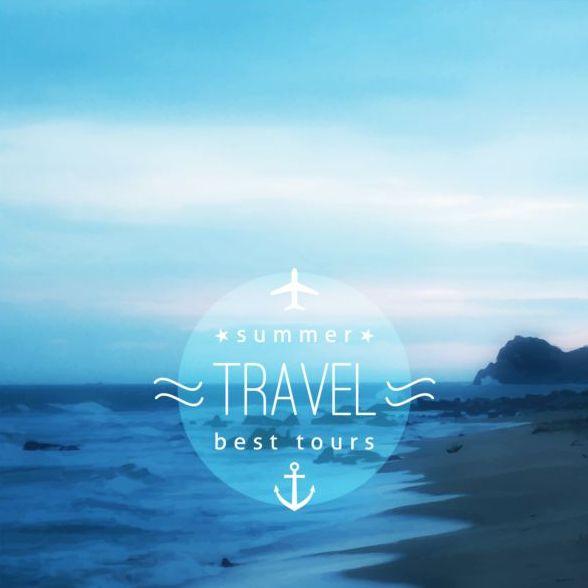 Sommer Reisen Meer