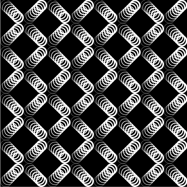 transparent pattern blanc black art