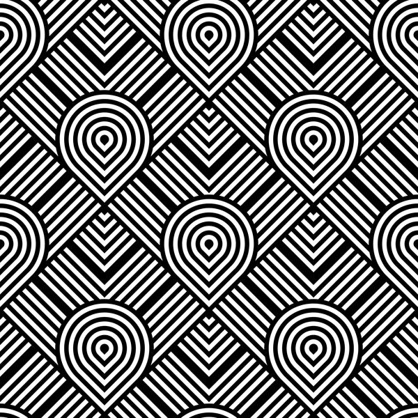 transparent pattern blanc black art