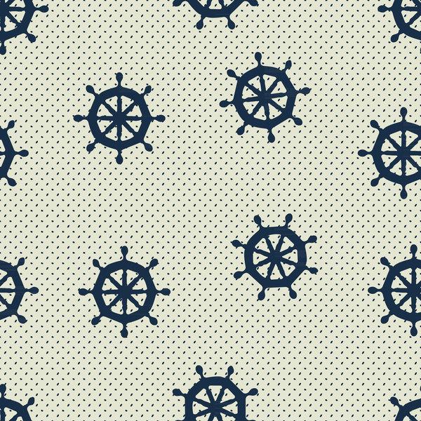 nahtlose Muster marine