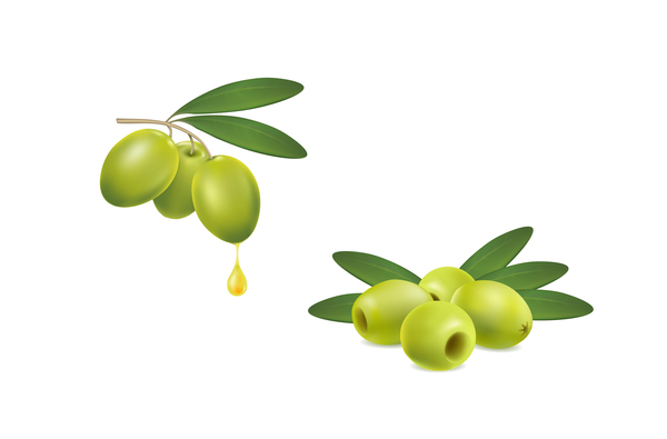 Oliven grün