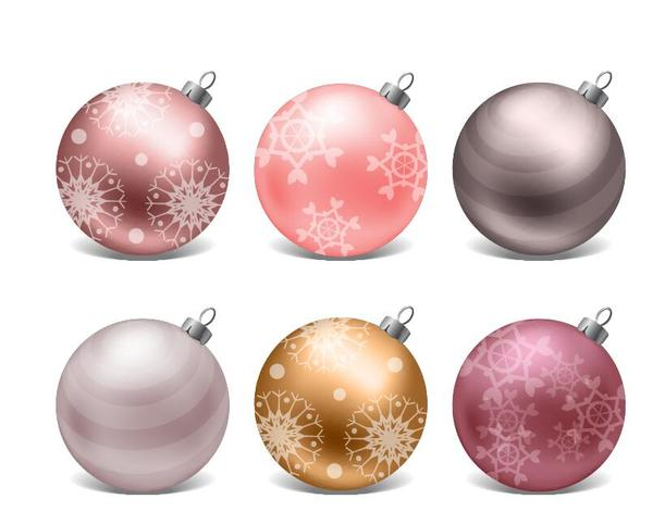 Noel decor brillant boules