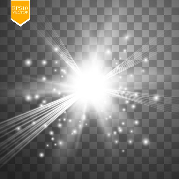 lumière effets brillant