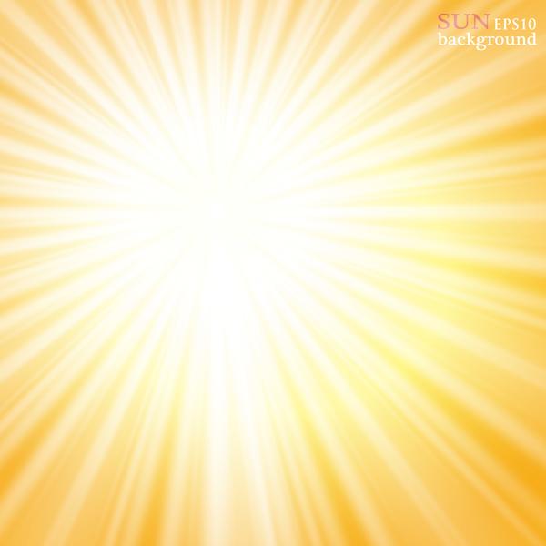 luce del sole brillante