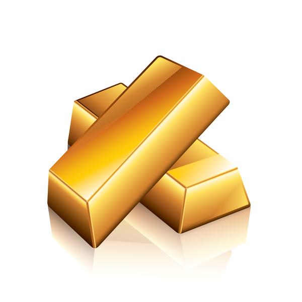 splendente d'oro Barra
