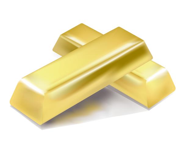 gold glänzend bar