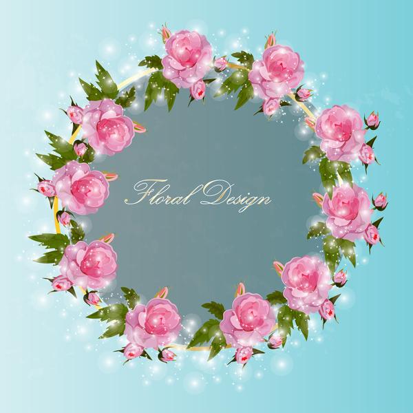 splendente Rosa corona
