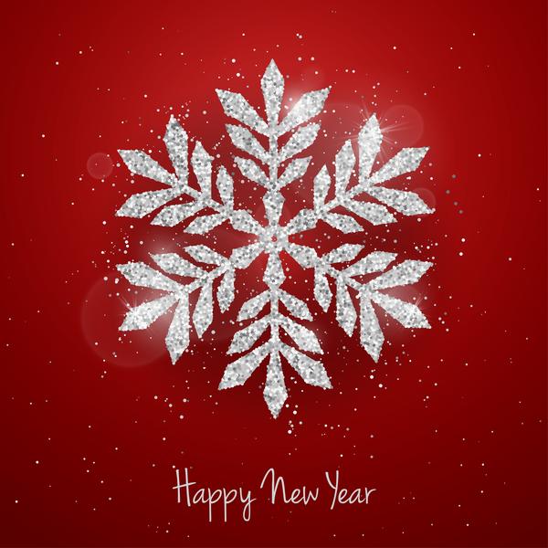 snöflingor silver rod jul