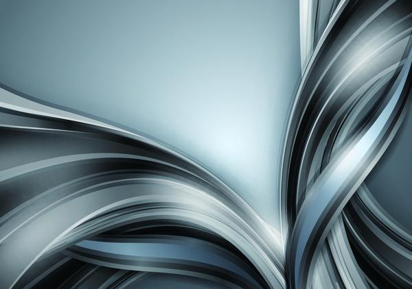 vågig textrue silver