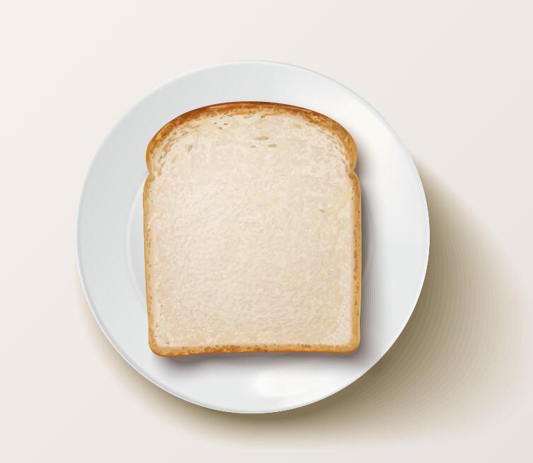 in Scheiben schneiden Brot