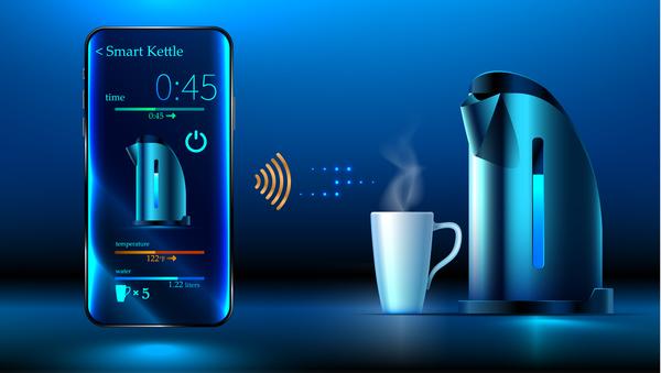 Wasserkocher smart mobile