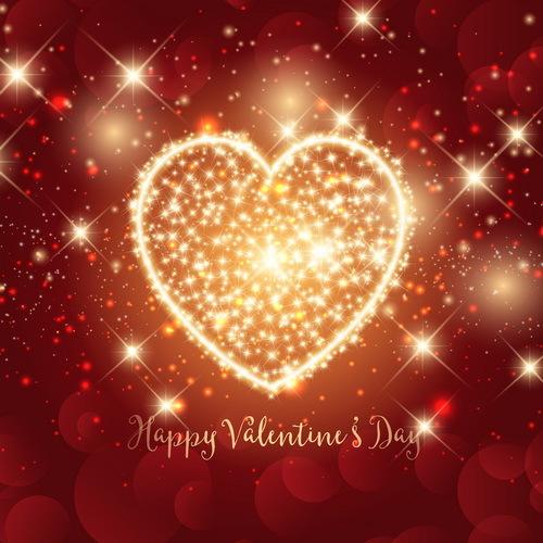 sparkle San Valentino giorno cuore