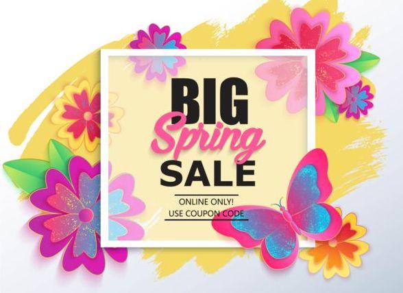 、大きい、販売、春