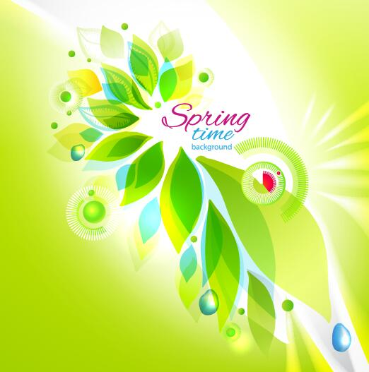 時間 春 、抽象的な