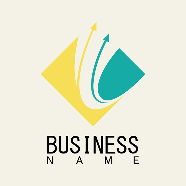 square Pil logotypen business