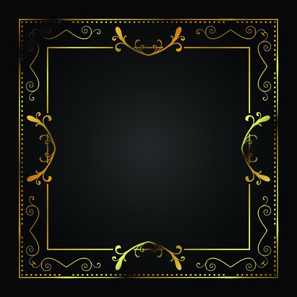 golden encadrer carré