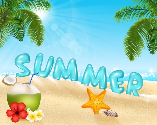 Sommer Reisen Koffer