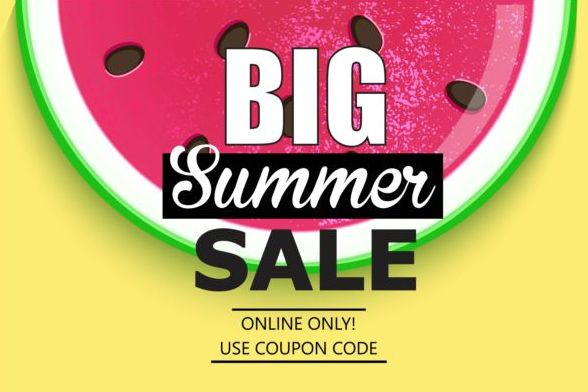 summer big sale big