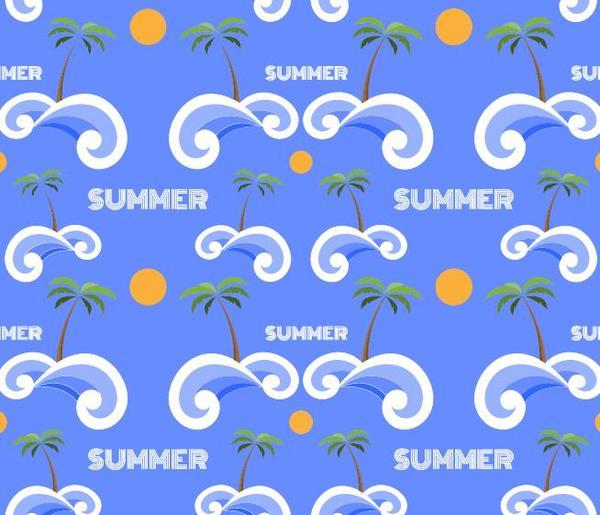 vacanza pattern estate di stili senza soluzione di continuità