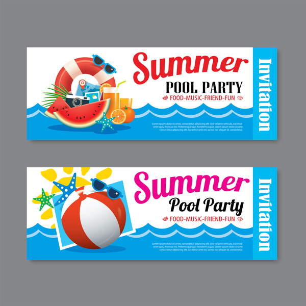summer party piscine