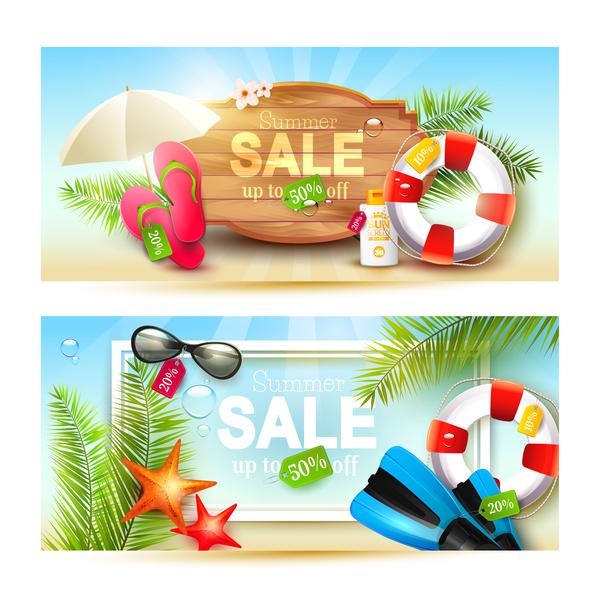 vendita orizzontale estate banner