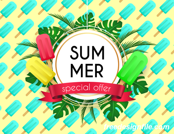 summer special poster offer